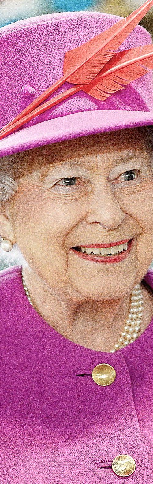 Queen Elizabeth II, current Queen of England